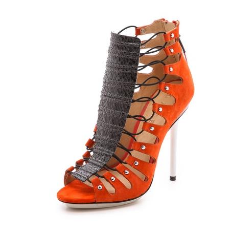 7e568b334e7 L.A.M.B. Falyn Laced Booties 2014 Style. Women Shoes
