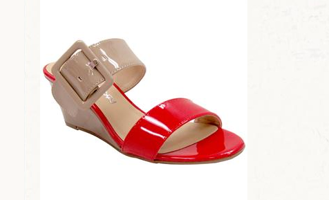 57e0899d95d Red and Beige Patent Vegan Sandals For Woman 2014 Style · Women Shoes