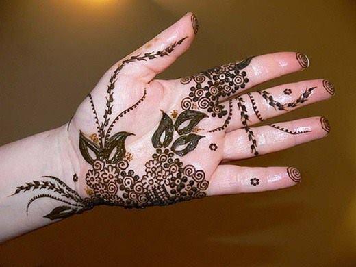 Mehndi Flower Bunch : Mehndi designs archives penta fashionpenta fashion