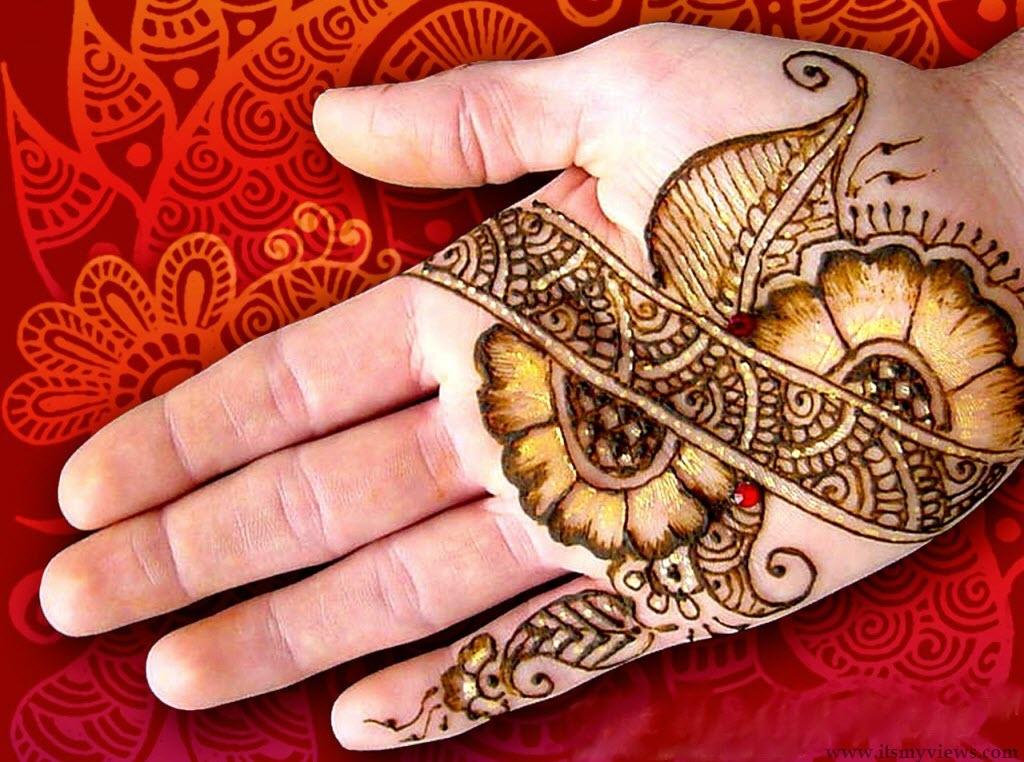 Latest Mehndi Design Beautiful Mehndi Designs : Latest mehndi designs for eid penta fashion