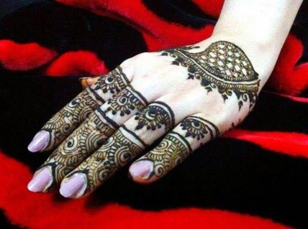 Mehndi Bridal Design Latest : Latest bridal mehndi designs for hands by suhana