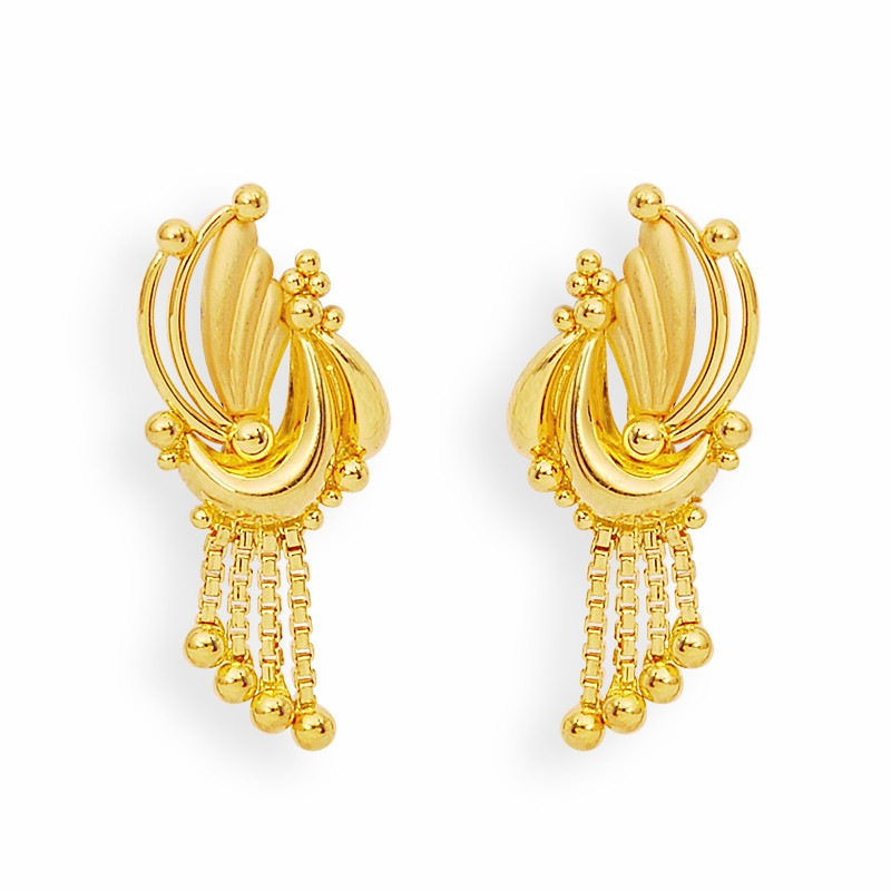 Latest Gold Earrings Designs - PENTA FASHIONPENTA FASHION