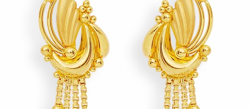 Latest Gold Earrings Designs PENTA FASHIONPENTA FASHION